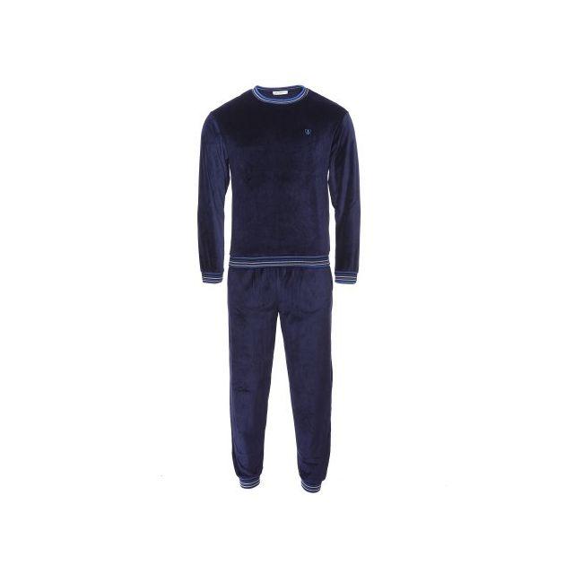 Mariner Pyjama forme jogging en velours : sweat et