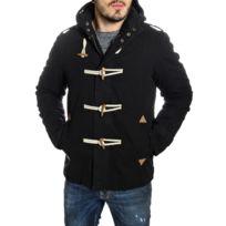 Young And Rich - Duffle-Coat homme à coudières noir
