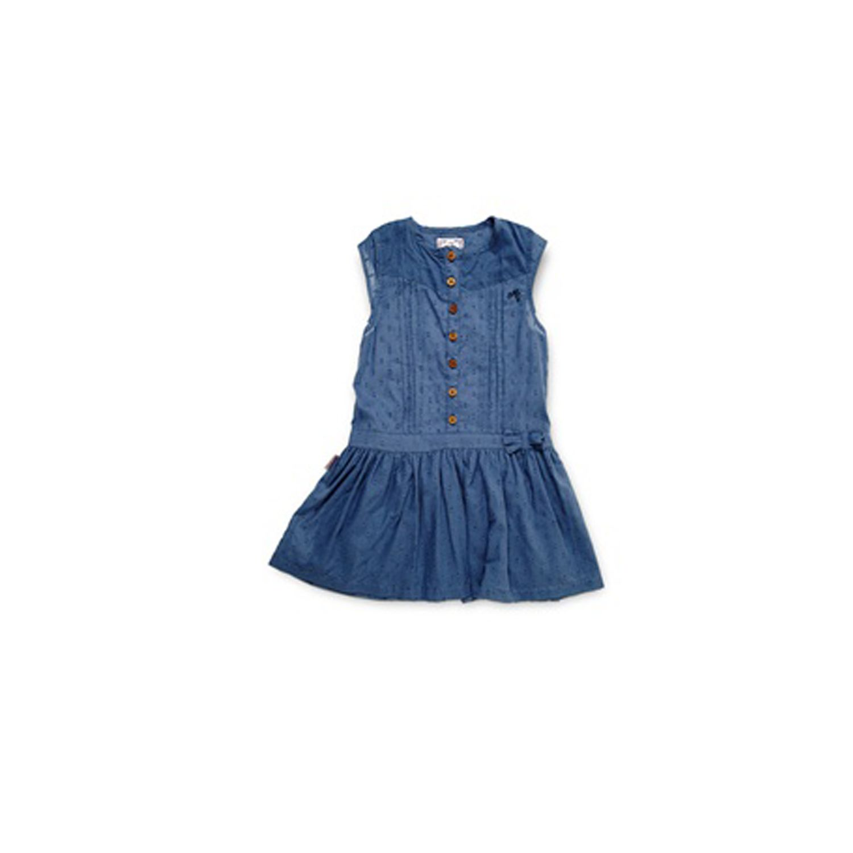 MISSGIRLY- Miss Girly Robe Fille Fluke - Marine 75e18a83f9e