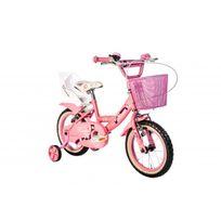 Autre - Vélo fille Roses 14 rose et blanc