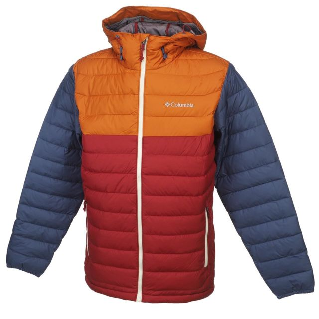 Columbia Doudounes synthétiques Powder lite red jacket