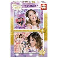 Educa - Puzzle 2 x 100 pièces : Violetta
