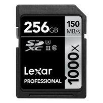Lexar - 256GB Sdxc 1000x Uhs-ii