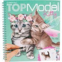 Kontiki - Album Coloriage Chat Kitty Top Model- 45361