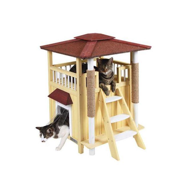 Enclos pour chat exterieur pas cher arbre chat dextrieur arbre a chat exterieur with enclos - Niche pour chat exterieur pas cher ...