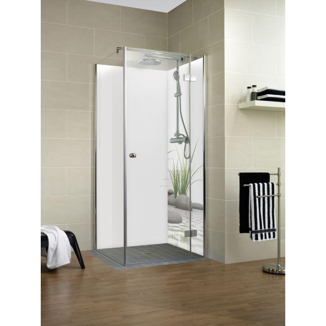 schulte panneau mural de douche 90 x 210 cm panneau de revtement pour
