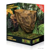 Exoterra - Bol nourrissage 2 en 1 Canopy Combo Dish