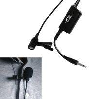 Ltc - Micro cravate à condensateur electret jack 6.35mm Audio Ecm-1000