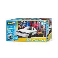Revell Build & Play - 06112 - Ford Police Car - 17 PiÈCES - ÉCHELLE 1/25