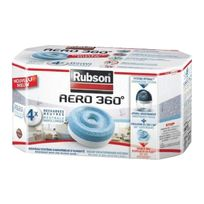 Rubson - Recharge power tab pour absorbeur d'humidité x 4