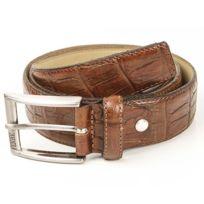 GianFranco Ferre - Original Gian Franco Ferre - ceinture cuir 110 cm marron  neuf n1 0b0002101a4