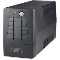 Digitus - Onduleur 600VA 2 prises afficheur Led