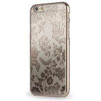 Meliconi - Coque transparente motif Fleur or pour iPhone 6