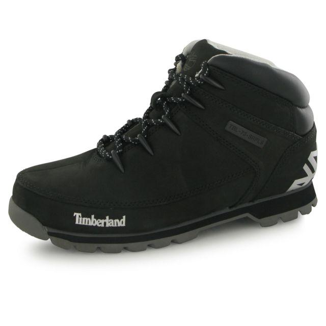 Timberland - Boots Euro Sprint Hiker Noir Homme