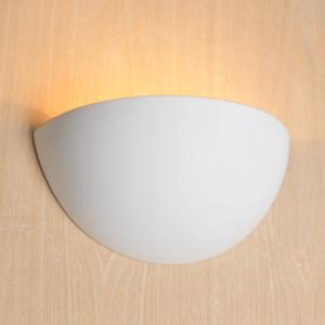 kosilum lampe applique en pl tre demi lune revolution blanc pas cher achat vente. Black Bedroom Furniture Sets. Home Design Ideas