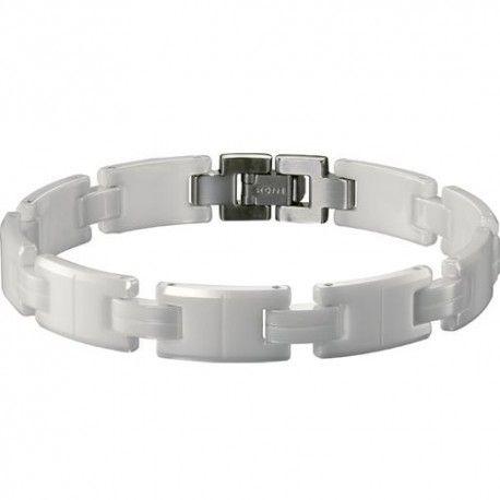 rochet bracelet homme han c ramique blanc b430102a. Black Bedroom Furniture Sets. Home Design Ideas