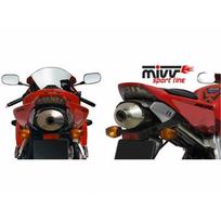Mivv - Silencieux oval carbone honda cbr1000rr fireblade - Mvuh025LE