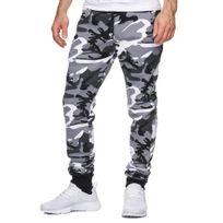 Violento - Jogging homme imprimé camouflage Jogging 794 blanc