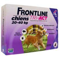 Frontline - Tri-Act 6x4ml - Pour chien de 20-40kg