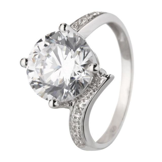 monte carlo star bague or blanc