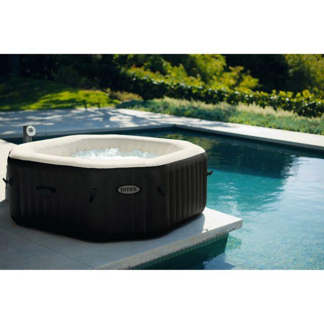 piscine intex octogonal. Black Bedroom Furniture Sets. Home Design Ideas