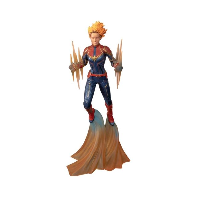 Diamond Select Toys Marvel Comic Gallery - Statuette Binary Captain 28 cm