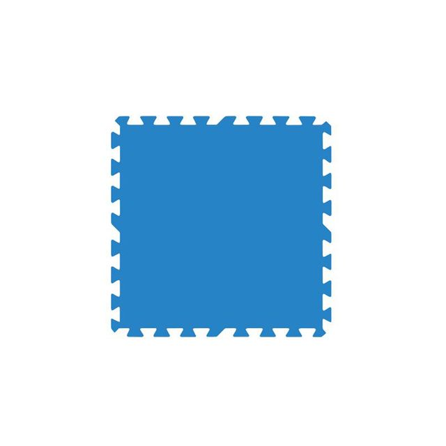 gre lot de 9 dalles de protection de sol bleues pour. Black Bedroom Furniture Sets. Home Design Ideas
