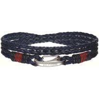 Tommy Hilfiger Bijoux - Bracelet Tommy Hilfiger 2700536 - Bracelet Tresse Bleu Homme