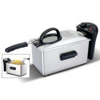 Md - Friteuse 1500W / 3L Inox - Mdf-5031