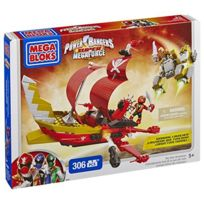 Mega Bloks - Power Rangers Smf Bateau a Construire