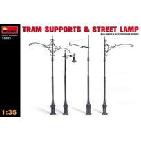 Mini Art - Miniart 1/35 Tram Supports & Street Lamps , 35523