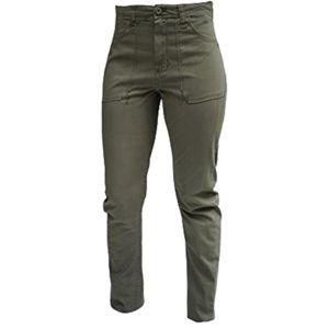 Le temps des cerises trellis femme nisrine kaki vert pas cher achat vente pantalon - Treillis le temps des cerises femme ...