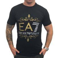 Ea7 - T-shirt Emporio Armani 6XPT22 Noir Polyamide