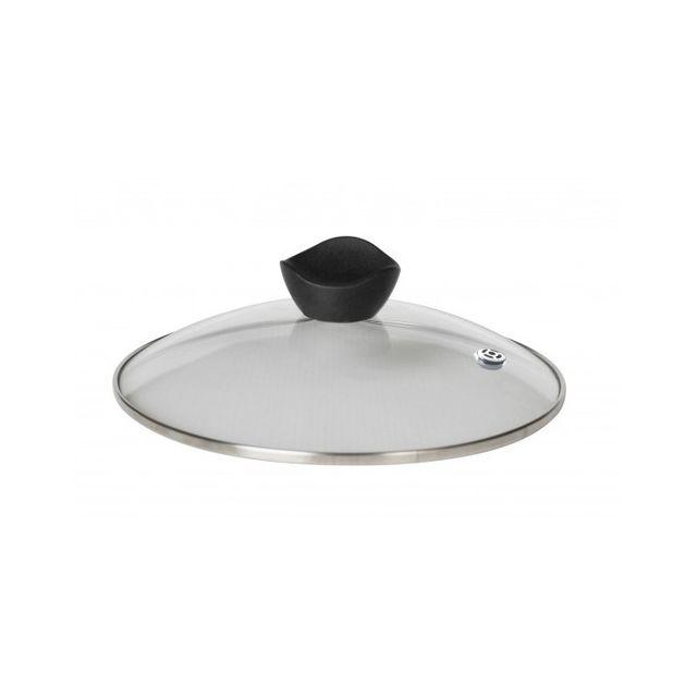 Cookut Couvercle en verre avec trou vapeur 24 cm