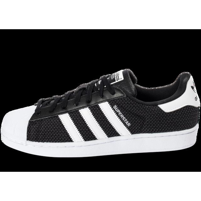 58dabb122065 Adidas originals - Superstar Textile Noire - pas cher Achat   Vente ...