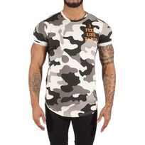 Project X - Tee Shirt camouflage I feel Like Pablo 88171152, Taille: Xs, Couleur: Ivoire