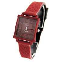 Rocky Montres Femme - Montre Femme Silicone Rouge Fantaisie Rocky 483