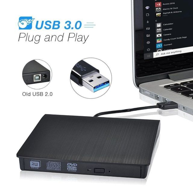 cabling lecteur cd dvd externe dvd cd lecteur portable usb 3 0 cd dvd rw rom player pour. Black Bedroom Furniture Sets. Home Design Ideas