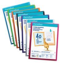 CARREFOUR - Protège-documents - A4 - 40 vues