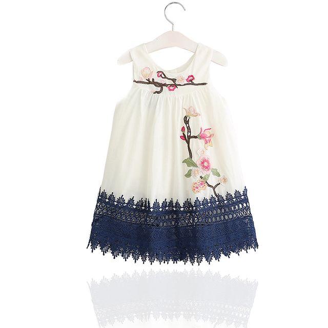 Couleurs variées femme Prix de gros 2019 Glareola - Robe imprimée fleurie pour enfants, robe légère ...