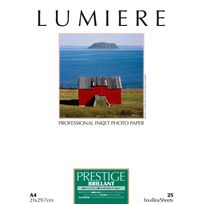LUMIERE - Papier photo Prestige Brillant - A4