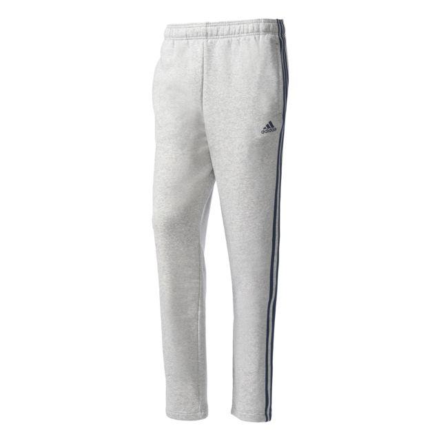 Chinébleu Stripes Fleece Gris Essentials Pantalon Marine 3 Adidas WnqFpSB
