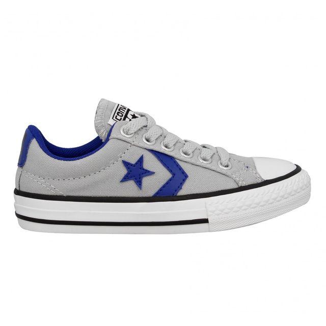 converse star player bleu