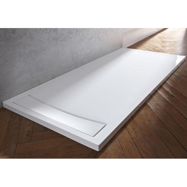 jacob delafon receveur douche extra plat flight neus 100 x 80 pas cher achat vente. Black Bedroom Furniture Sets. Home Design Ideas