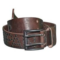 Japan Rags - Ceinture - Homme - Flore - Cuir - Brown Marron