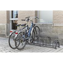 Mottez - Râtelier 5 vélos Versailles sur 2 niveaux. B129US