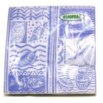 Tersol - Serviettes papier x 20 de 33x33 cm fruits de Mer