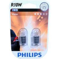 Adnauto - 2 ampoules R10W Vision - Ba15S - 30% de plus