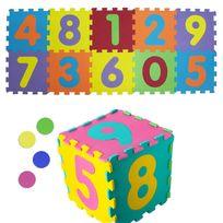 Touslescadeaux - Tapis Puzzle Activités Enfant - En Mousse - 3 en 1 - Chiffres