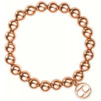 Tommy Hilfiger Bijoux - Promo Bracelet Tommy Hilfiger 2700503 - Bracelet Boules Or rose Femme